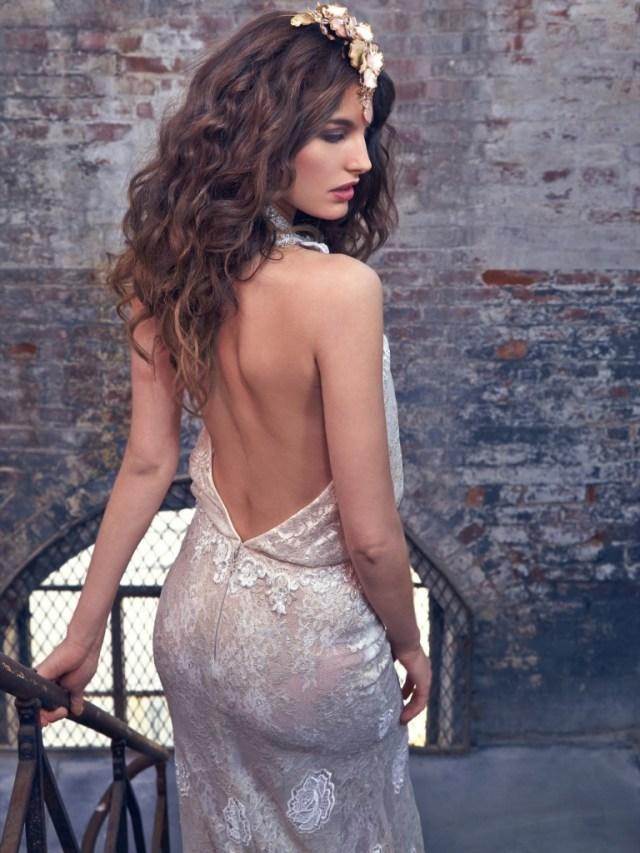 Galia Lahav Bridal Les Reves Bohemians Collection-Savannah-Back
