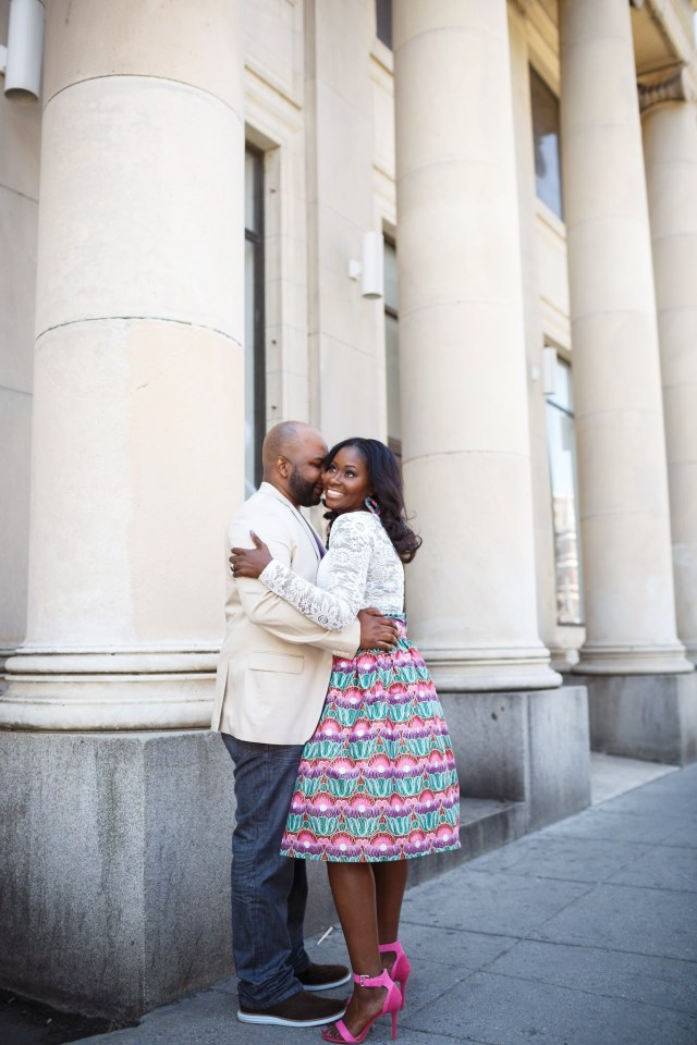 Spring Engagement Shoot in DC 36
