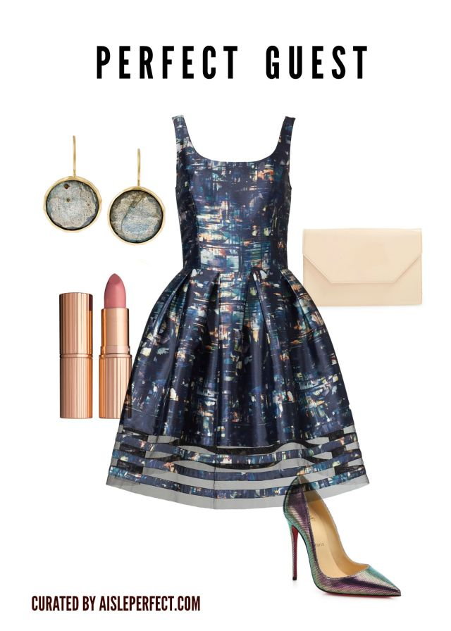 cocktail outfit for wedding guest outfit