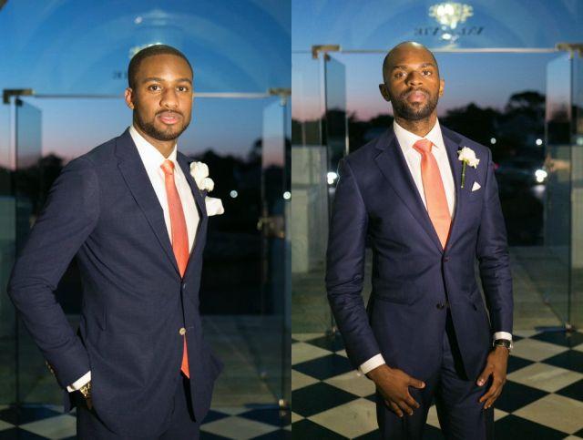 Groomsmen_ Luxury estate wedding by zarazoo