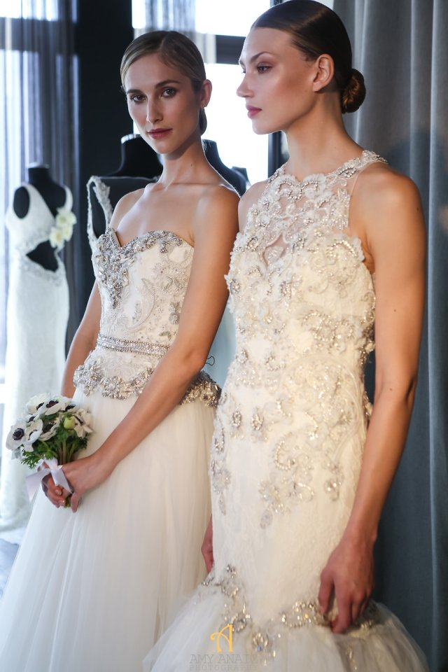 Bridal fashion week recap- badgley mischka 2