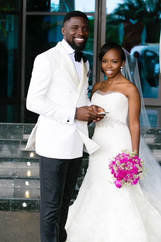 Slam2014 - Segi and Olamide Adedeji's Wedding in Ruby Gardens Nigeria 152