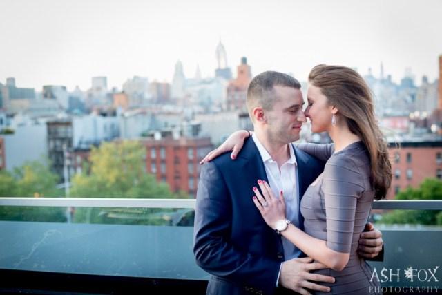 Katie and Ravi's Suprise Proposal at 60 LES 17