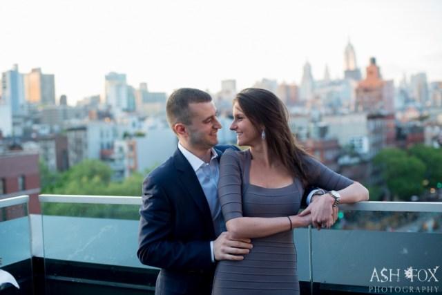 Katie and Ravi's Suprise Proposal at 60 LES 37