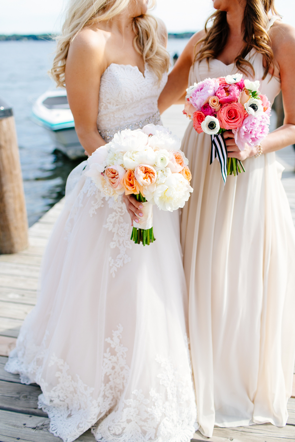 Modern Blush Wedding by Leah Fontaine Photography 35