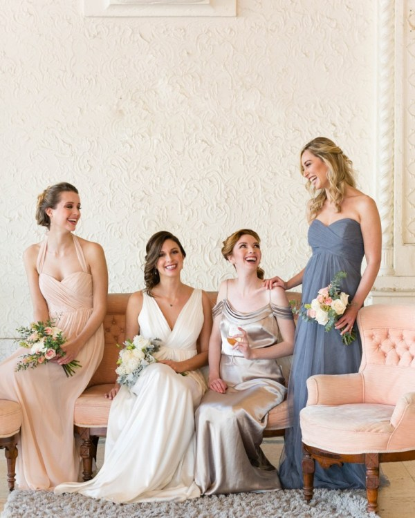 mix and match bridesmaids from the Altar Ego collection by Brideside 72