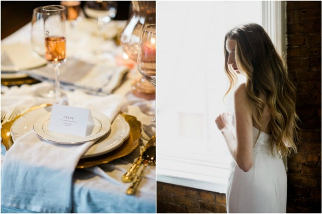 rustic gold wedding inspiration