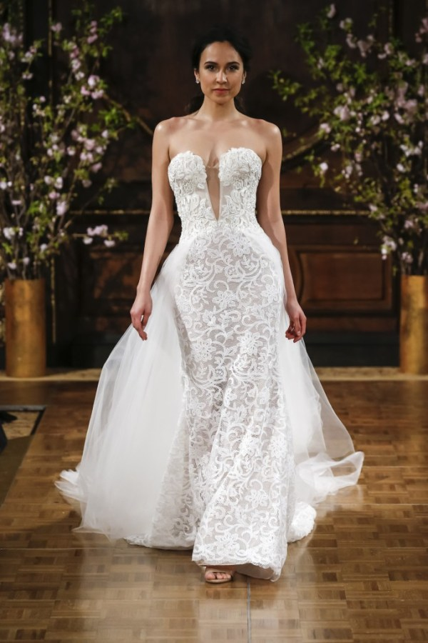 Isabelle Armstrong- Tulle Overskirt Wedding Dress
