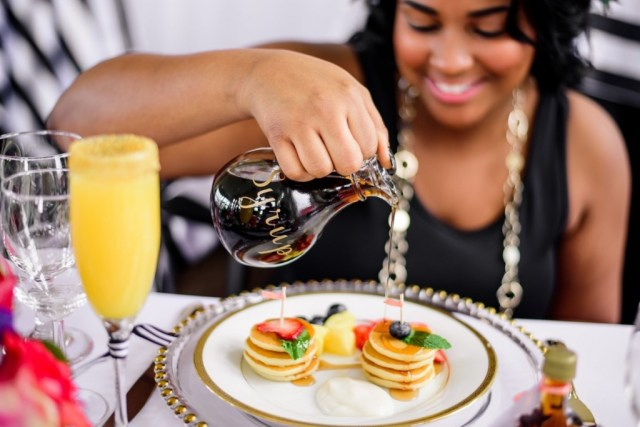 Pancakes and Mimosa Brunch Bridal Shower 97