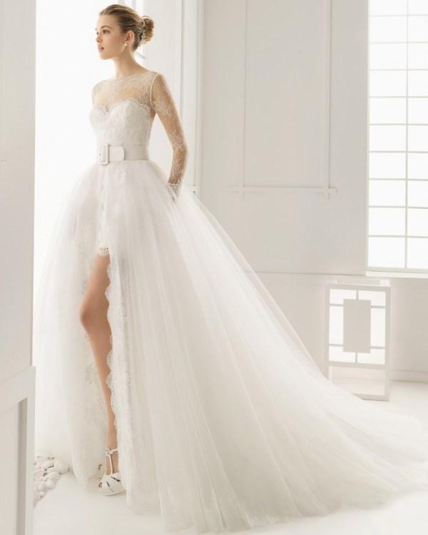 Rosa Clara Overskirt Wedding Dress