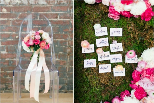 spring watercolor wedding inspiration