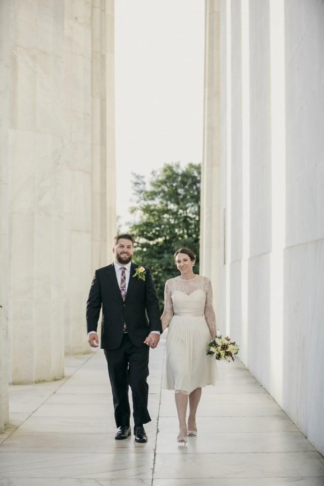 Intimate Washington DC Wedding 19