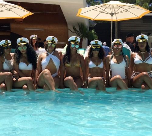 bridal swimsuit _ pool bachelorette