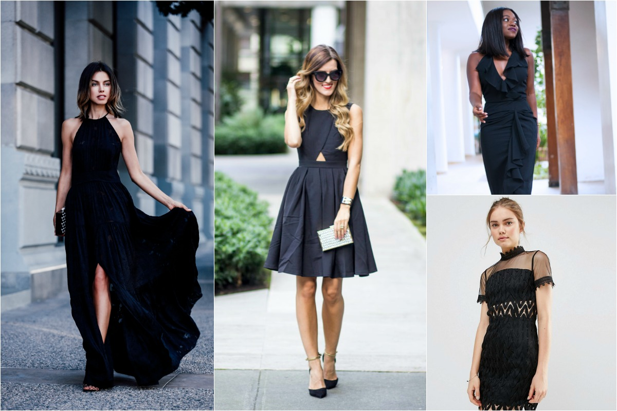 15 Pretty Perfect Black Wedding Guest Outfits Perfete,Burgundy And Gold Wedding Dresses