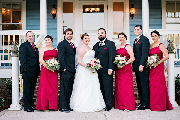 red gold wedding-25