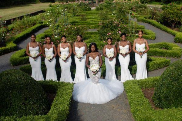 all-white-bridesmaids-dresses