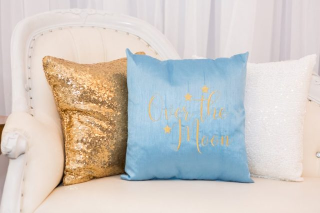 baby shower lounge pillows