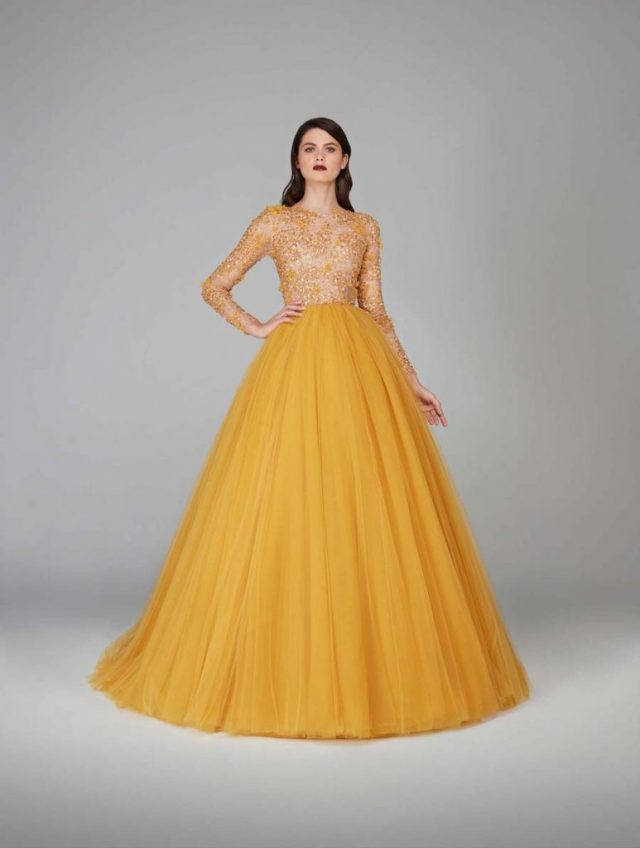 Beauty and the Beast Wedding Dress Inspiration