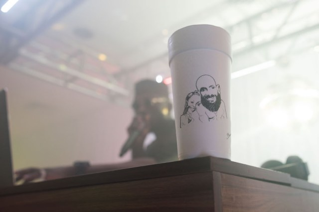 custom afterparty styrofoam cup