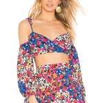 floral top by majorelle. available at revolve. shop perfête