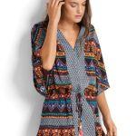 colorful stylish and versatile beach swimwear coverup