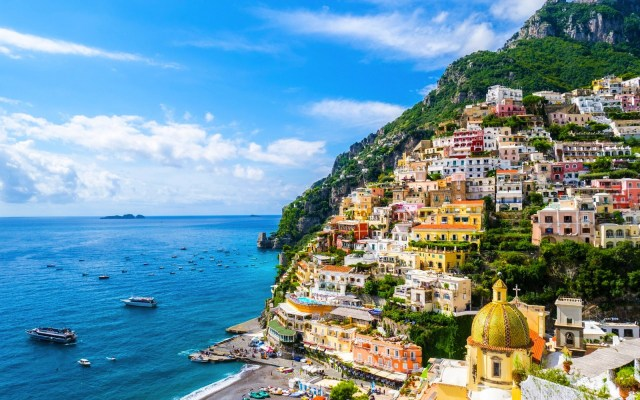 Positano, Italy is one of the top travel destinations trending now.