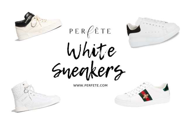 best white sneakers trend