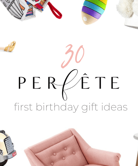 perfête gift ideas for one year old - 1 year old - toddler - first birthday gift ideas - gift guide by perfête