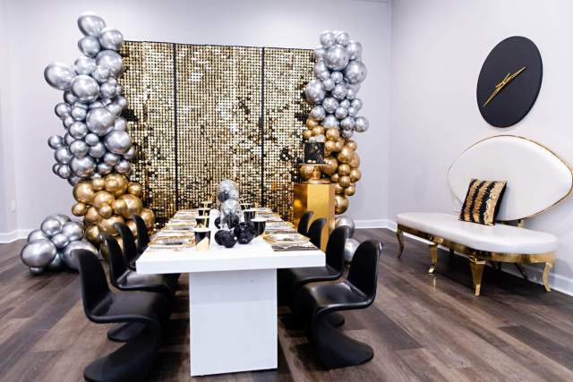 Hello 2020 Black And Gold New Year S Eve Kids Party Perfete