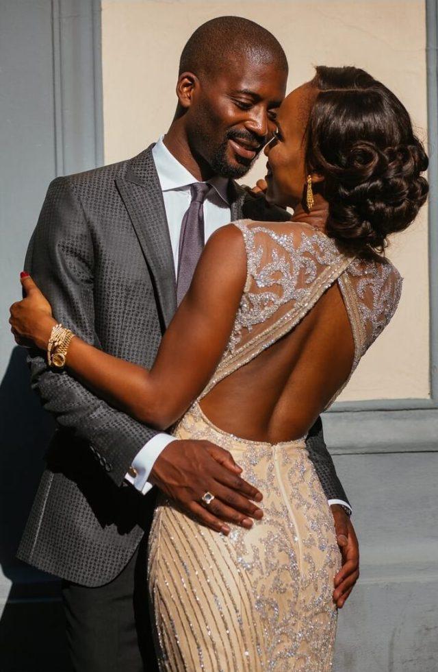 wavy bridal hair ideas for black brides