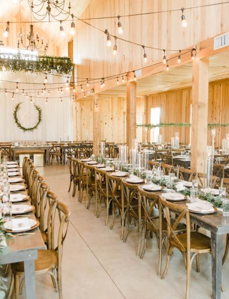 Beautiful Outdoor Wedding with Warm and Rustic Decor-20