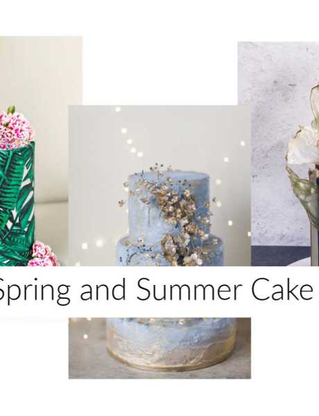 spring summer cakes