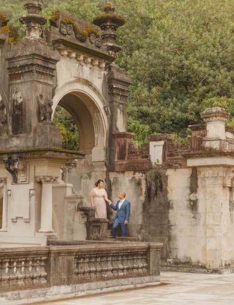 Breathtaking Destination Wedding at a Castle in Brazil-7