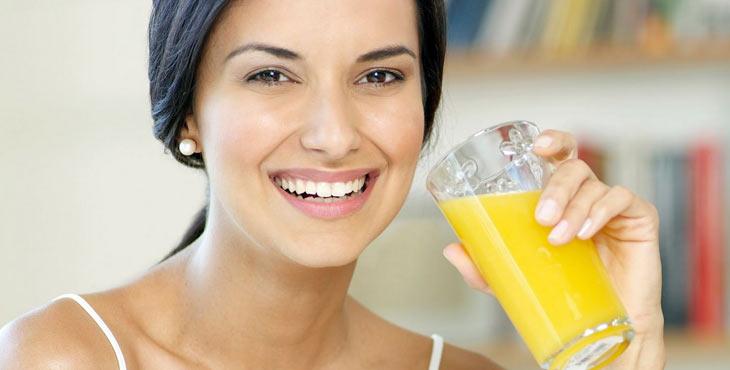 Sucos detox para deixar a pele mais bonita