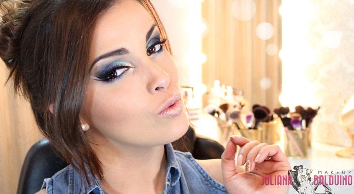 Curso de maquiagem para olhos com Juliana Balduino