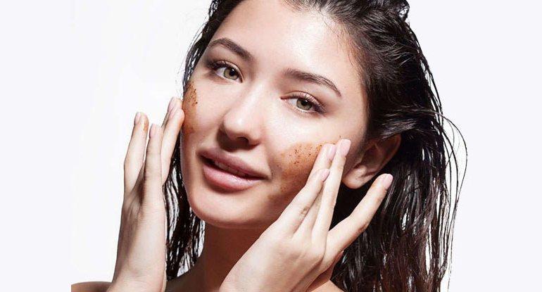 Esfoliação para a pele facial