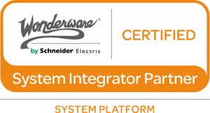 Wonderware Certified System Integration Partner for System Platform