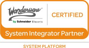 Wonderware Certified System Integration Partner for System Platform