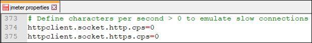 Simulate Network Speed in JMeter