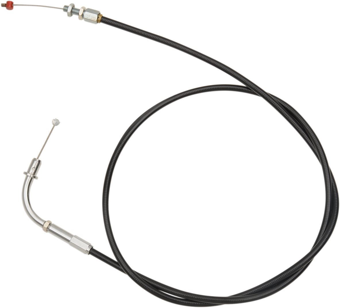 Barnett Black Vinyl Coated Clutch Cable Stock Length (101