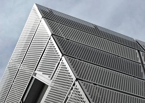 Perforated Corrugated Metal Panels