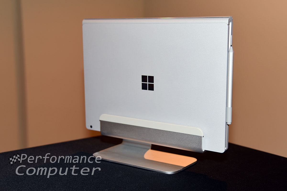 Rain Design mTower Vertical Laptop Stand Review Surface
