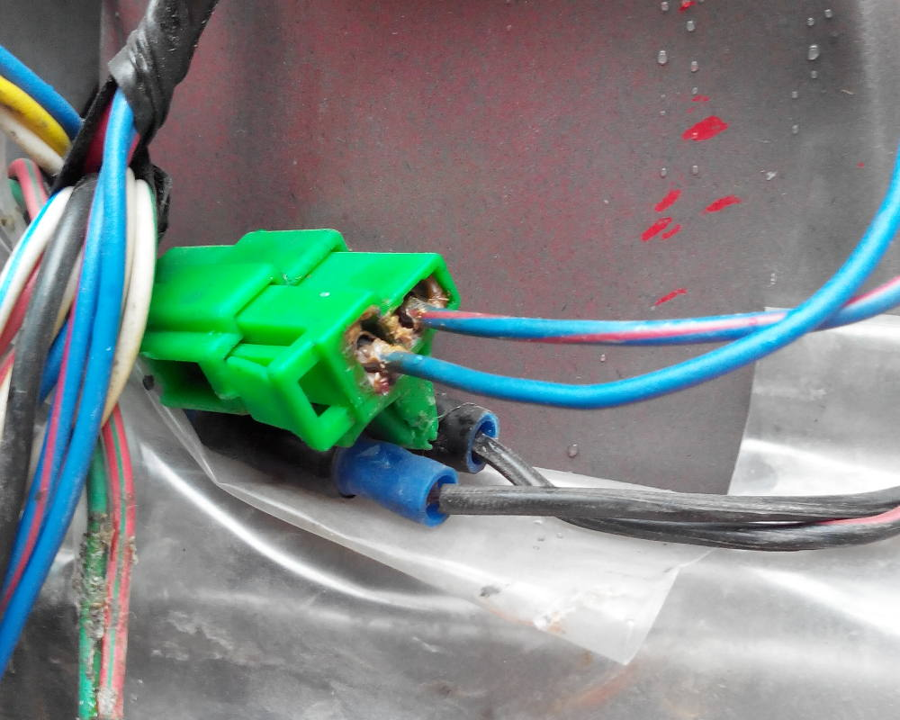 medium resolution of  corroded car audio wiring