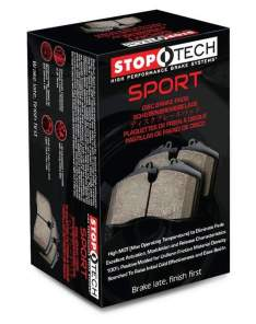STOPTECH 309.15390 SPORT BRAKE PADS (Front)