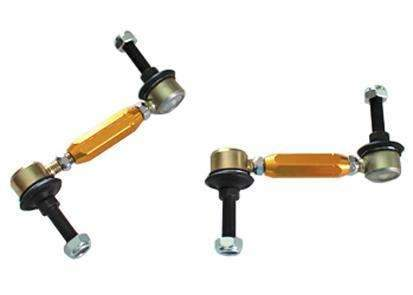 WHITELINE KLC141 SWAY BAR LINK KIT HEAVY DUTY ADJUSTABLE STEEL BALL (Rear)