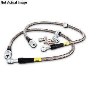 STOPTECH 950.47508 SS Stainless steel brake lines for Subaru BRZ, TOYOTA 86 Full Option (Rear only)
