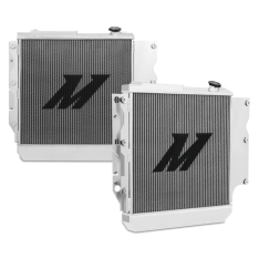 JEEP WRANGLER YJ AND TJ ALUMINUM PERFORMANCE RADIATOR, 1987-2006