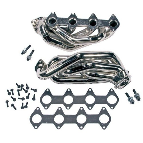 BBK 1612 Shorty Tuned Length Exhaust Headers 1-5/8 Chrome Ford Mustang 4.6L GT 2005 - 2010