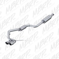 MBRP S4200AL Ford Focus ST 2.0L EcoBoost 2013 - 2018 Dual Center Outlet AL 3in Cat Back