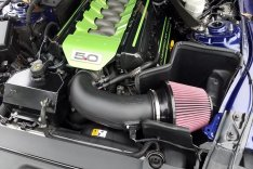 JLT Performance CAI-FMG-15 Cold Air Intake Ford Mustang GT 2015-2017 Black Textured